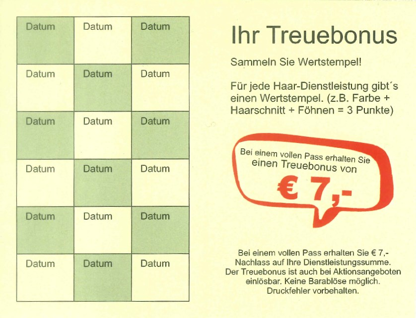 treuebonus
